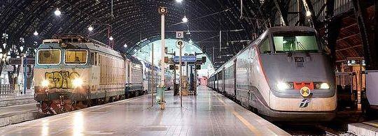 Карта Железных дорог Италии – маршруты поездов в Италии