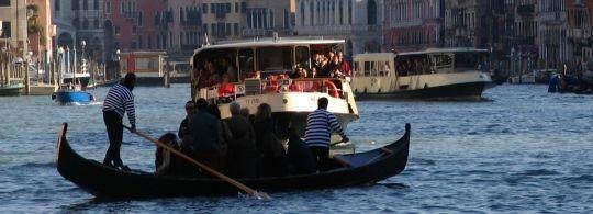 Vaporetti – водный общественный транспорт в Венеции