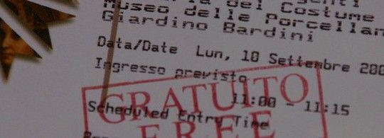 10 достопримечательностей Флоренции, в которые можно купить билеты online. Часть I