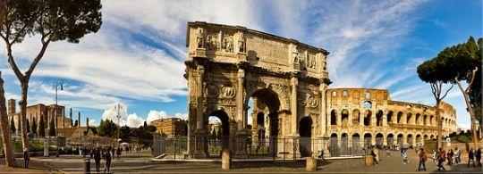 Рим в октябре