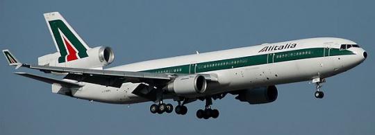 Авиакомпания Alitalia (Алиталия) – итальянские авиалинии