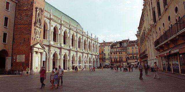 Достопримечательности города Виченцы в Италии