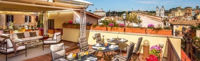 5 лучших отелей Рима 5 звезд для особенных поводов
