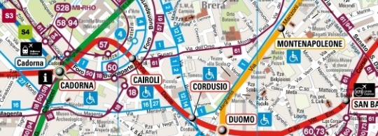 Общественный транспорт в Милане