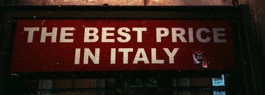 Цены в Италии:  сколько денег брать с собой в Италию