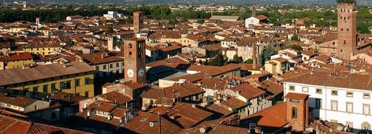 Лукка – город башен в Италии