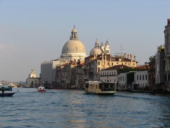 Венеция осенью