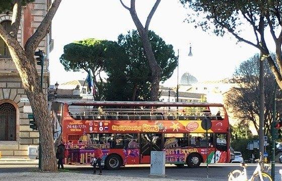 Достопримечательности Рима на туристических автобусах