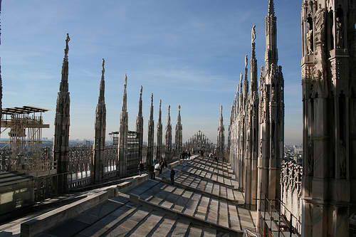 Крыша собора Duomo