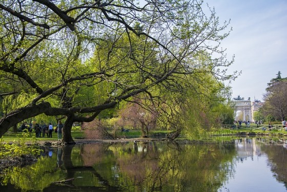 Parco Sempione в Милане