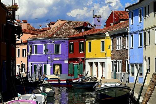 Остров Бурано, Венеция, фото