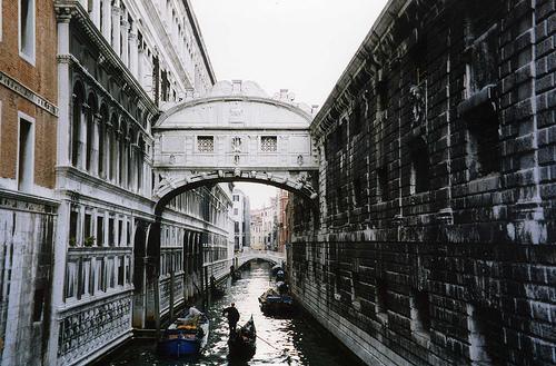 Мост вздохов, Венеция, фото
