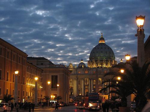 Ватикан на Рождество