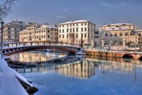 Снег в Феврале в Северных регионах Италии - вполне нормальное явление