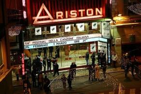 """Главной сценой Фестиваля песни в Сан-Ремо на долгие десятилетия стал Театр """"Аристон"""""""