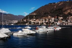 Озеро Комо - третье по величине и самое глубокое озеро в Италии