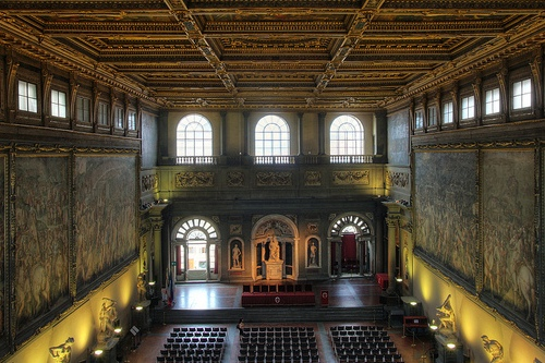Палаццо Веккьо, фото, Флоренция, Италия