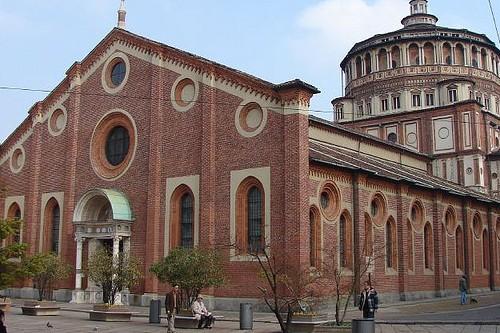 Собор Санта-Мария делле Грацие, фото, Милан, Италия