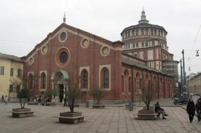 Фреска да Винчи Тайная вечеря по сей день украшает одну из стен трапезной в Миланском монастыре Санта Мария делле Грацие