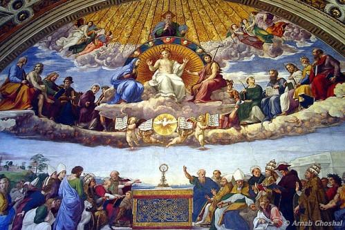 Музеи Ватикана и Сикстинская капелла, фото, Станцы Рафаэля, Ватикан, Рим, Италия