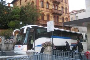 Перевозки из Милана во Флоренцию осуществляют 2 автобусных компании, у каждой из которых поездка занимает от 5 до 7,5 часов