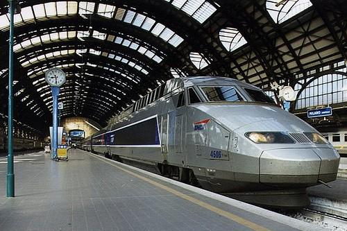 Из Рима в Неаполь поездом, фото, Скоростной поезд, Рим, Италия