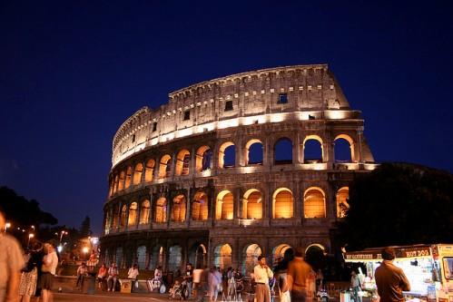 Представление в Колизее могли одновременно смотреть 67 тыс. зрителей