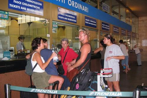 Кассы по продаже железнодорожных билетов, фото, Италия