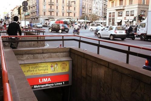 Станция метро Милана Lima