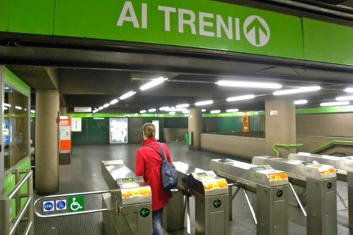 в метро Милана - 1,5 евро