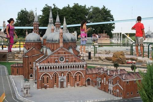 Парк Италия в миниатюре, фото, Дуомо в Падуе, Италия