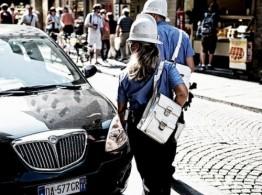 Парковка в неположенном месте карается штрафом в размере 30 евро