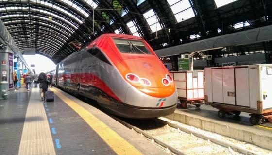 Поезд на Милано Централе