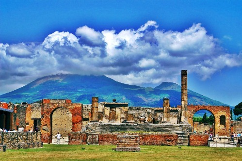 Помпеи, фото, от извержения Везувия до наших дней, Италия