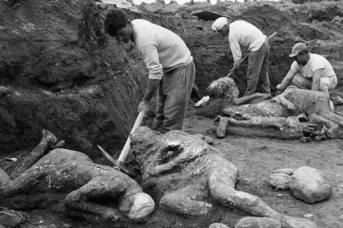 Помпеи, фото, раскопки, Кампания, Италия