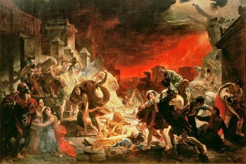 Помпеи, фото, последний день, извержение Везувия, Италия