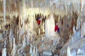 """""""Белая пещера"""" в Гротах ди Кастеллана была признана спелеологами одной из самых красивых в мире"""