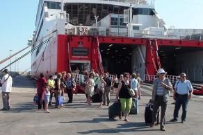 Паромы соединяют Бари с греческими островами - Корфу, Кефалония и Закинтос