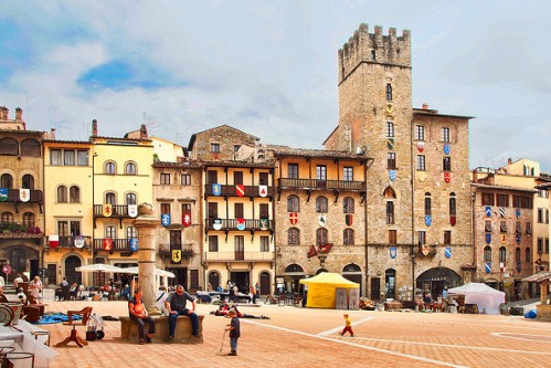 Гид во Флоренции, фото, экскурсия в Ареццо, Тоскана, Италия