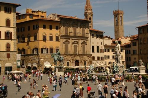 Экскурсии по Флоренции, фото, Площадь Синьории, Флоренция, Тоскана, Италия
