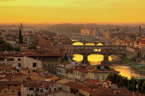 Экскурсии по Флоренции, фото, Понте Веккио ( старый мост), Флоренция, Тоскана, Италия