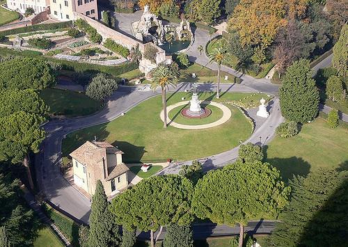 Экскурсия в Ватиканские сады