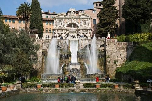 Экскурсия в Риме на русском языке, фото, Тиволи, вилла Д'Эсте, Лацио, Италия