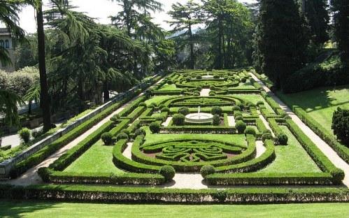 Сады Ватикана - одна из его скрытых жемчужин