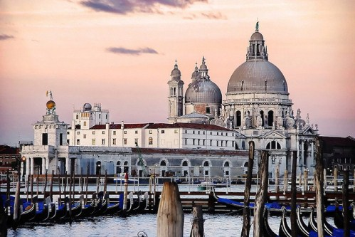 Экскурсии по Венеции с гидом, фото, Собор Санта-Мария делла Салюте, Гранд-канал, Венеция, Италия