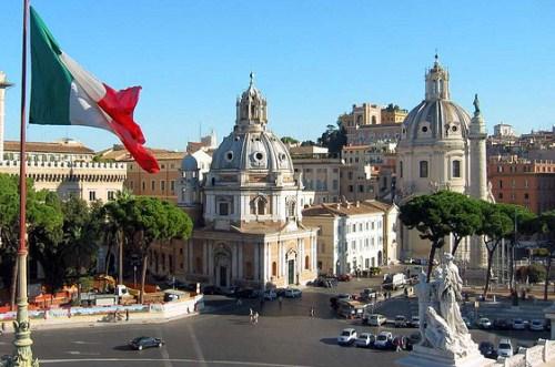 Площадь Венеции. Экскурсия Здравствуй Рим