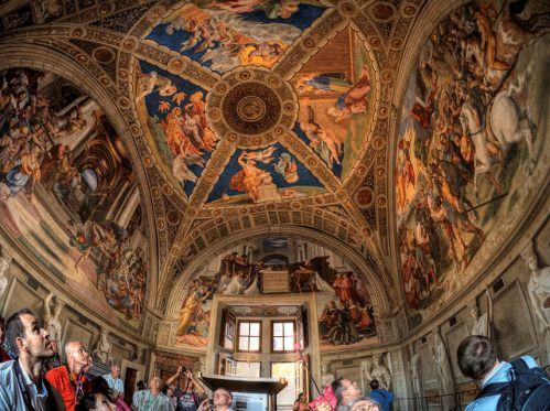 Экскурсия в музеи Ватикана после закрытия
