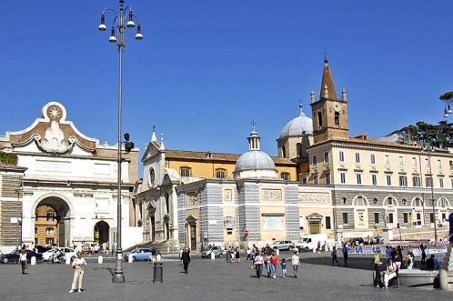 Церковь Санта-Мария-Дель-Пополо, Рим, Италия