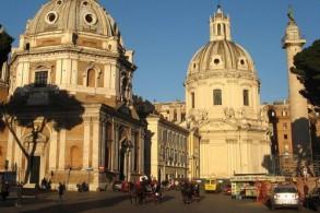 Средняя дневная температура в Риме в январе +11С