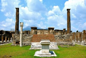 Помпеи погибли во время извержения Везувия летом 79 года